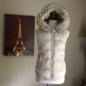 Trafaluc Vest Faux Fur hoodie Jacket